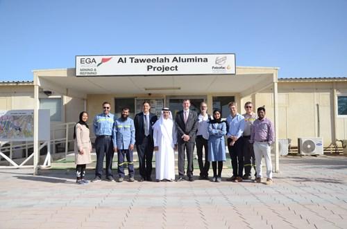 Ambassador visits EGA's Al Taweelah alumina refinery to celebrate